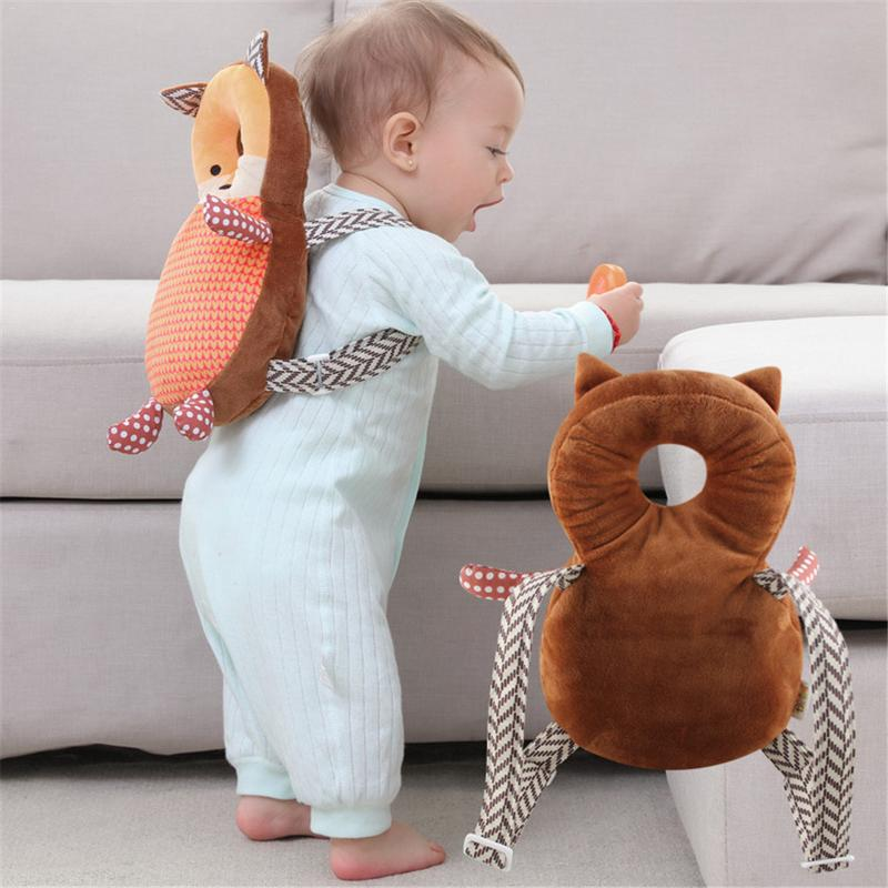 Pillow Cute Pillow Baby Kids Toddler Headrest Head Protection Pad Pillow Head Crash Pad Protection Cushion Dropship