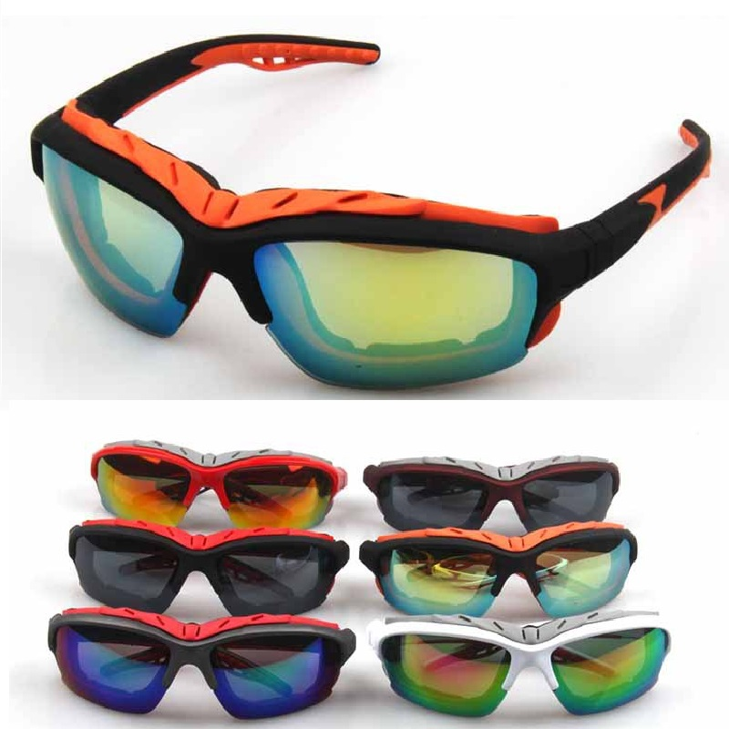 2018 Outdoor Sports Sun Glasses Cycling Mens MTB Motorcycle Sunglasses Ciclismo Gafas Bike Eyewear