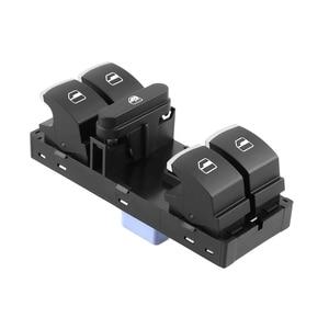 Car Electric Master Power Window Switch for VW CADDY MK3 GOLF MK5 MK6 JETTA 5ND 959 857