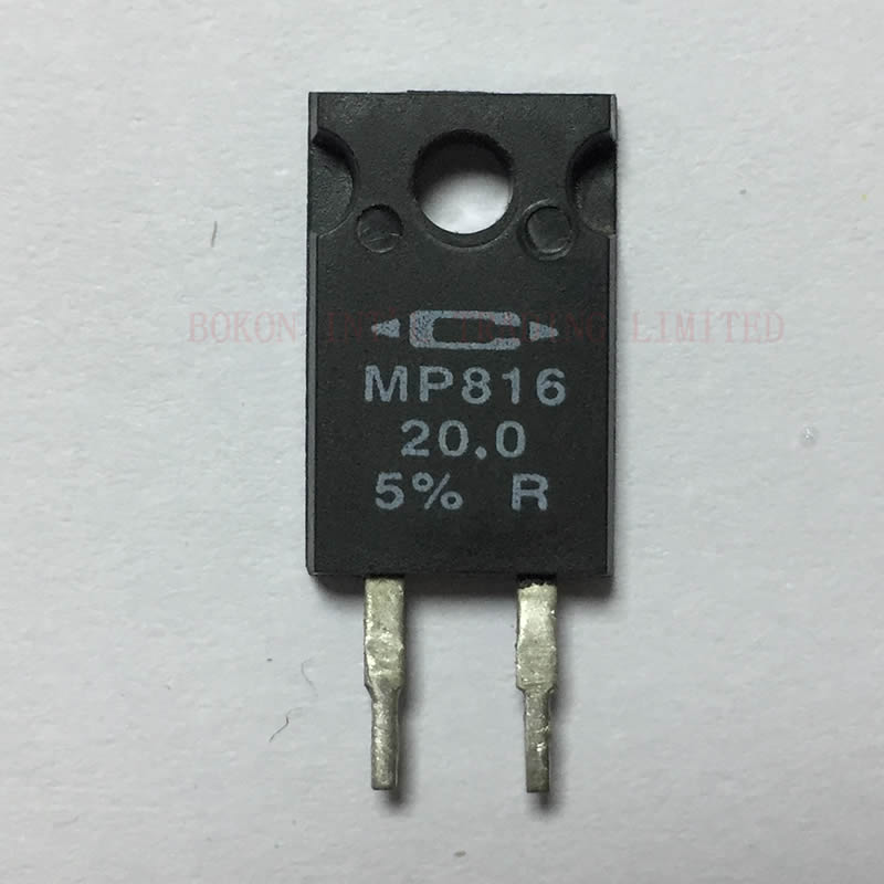 MP816 RESISTOR POWER FILM 16W 20.0OHM 5% THROUGH HOLE MOUNT MP816-20.0-5% R Power Resistors TO-220 Style Power Package