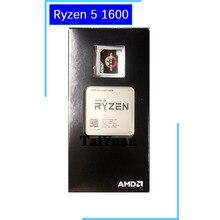معالج لوحدة المعالجة المركزية AMD Ryzen 5 1600 R5 1600 3.2 GHz سداسي النواة YD1600BBM6IAE مقبس AM4