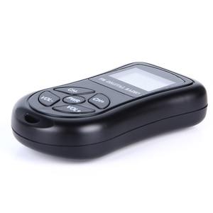 Image 3 - LEORY Mini altavoz de Radio Digital LCD, FM, 3,5mm, conector para auriculares, portátil, receptor de Radio con pantalla DSP