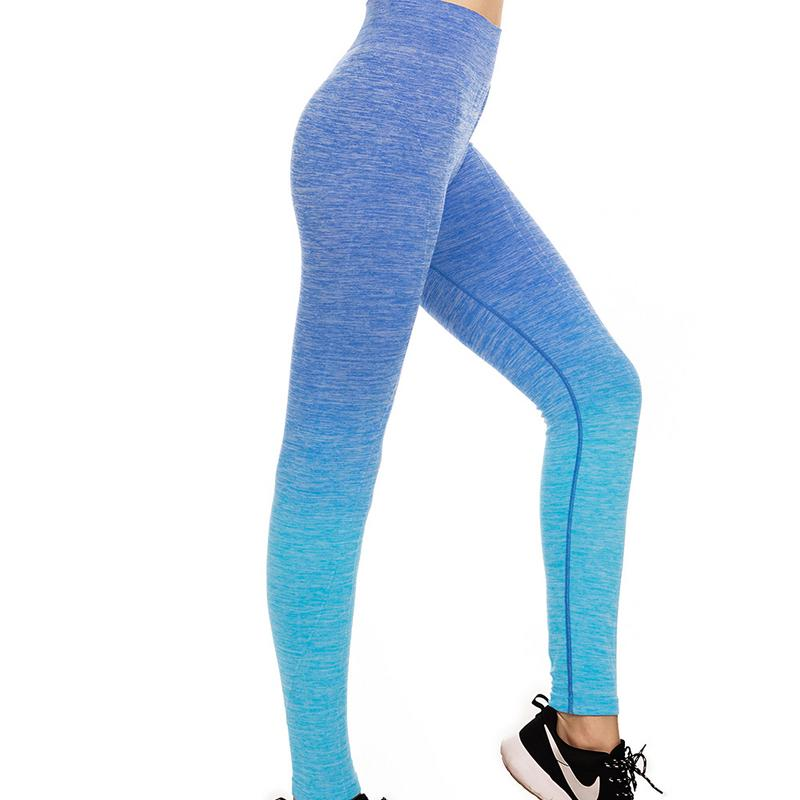 HEILSA Gradient Hanging Dyed Yoga Pants Comfortable
