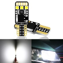 1 Piece T10 Led Bulbs 168 501 W5w Canbus Lamp Wedge 3030 6smd Interior Lights No Error Auto DC12V