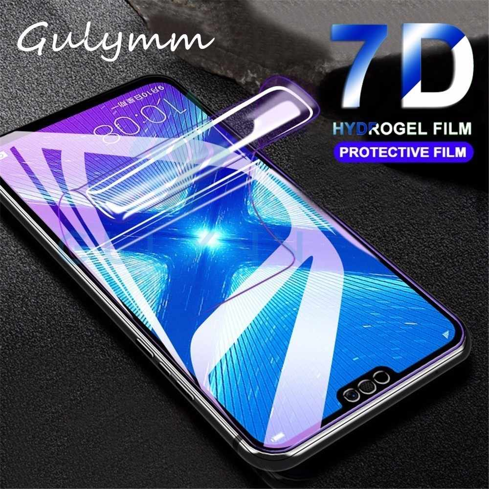 7D Soft Hydrogel Protective Film For Huawei P30 Lite Pro Screen Protector For Huawei Honor 8A 8X 8C 20 10 Lite Play P Smart Film