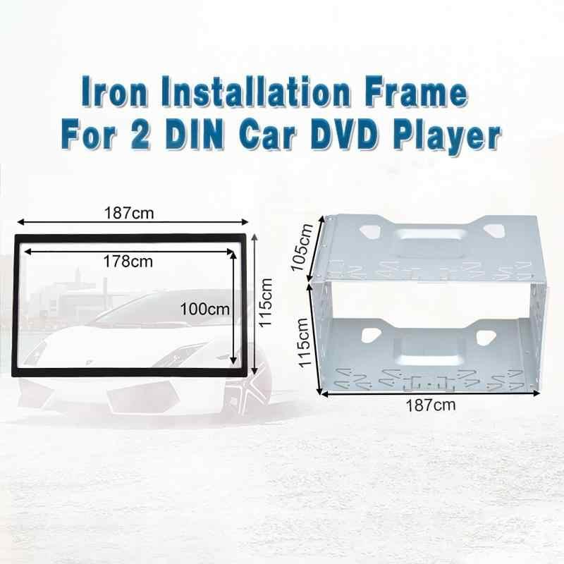 取付アクセサリー 2 ディンアンドロイド車メディア DVD MP5 Android プレーヤーラジオ取付フレームゴルフ/ポロ/MK3 /ジェッタ