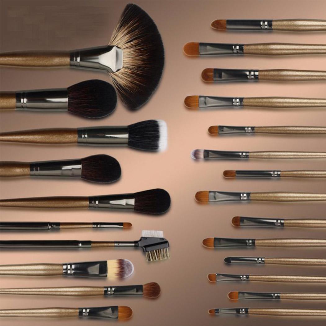 HG SERIES пудра/румяна повторяющиеся тени/креза для глаз/консилер/угловой вкладыш/Smudge/выдвижные кисти для макияжа Кабуки набор - 3