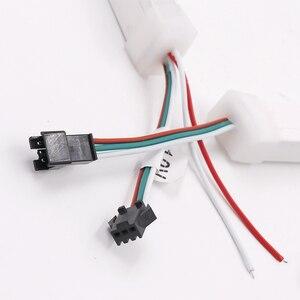 Image 5 - 5V 12V SK6812 Đầy Đủ Màu Sắc Riêng Biệt Addressable Dây Đèn LED Ánh Sáng WS2811 Chống Thấm Nước 5050 RGB Neon Ký Dây Băng đèn Chiếu Sáng