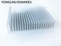 1pcs Aluminum heatsink195*45 150mm/industrial high power radiator/LED aluminum heat sink