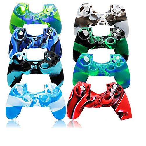 🛒[xo83u] PS4 Controller Dots Decal Silicone Gel Guards sleeve Skin