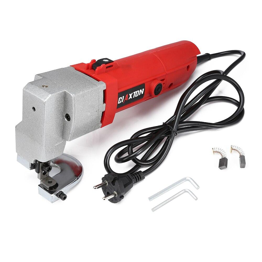580W 220V Head Shell Professional Electric Sheet Metal Shear Snip Scissor Cutter Power Tool