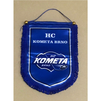 Czech Republic HC Kometa Brno 30cm*20cm Size Double Sides Christmas Decorations for Home Hanging Flag Banner Gifts фото