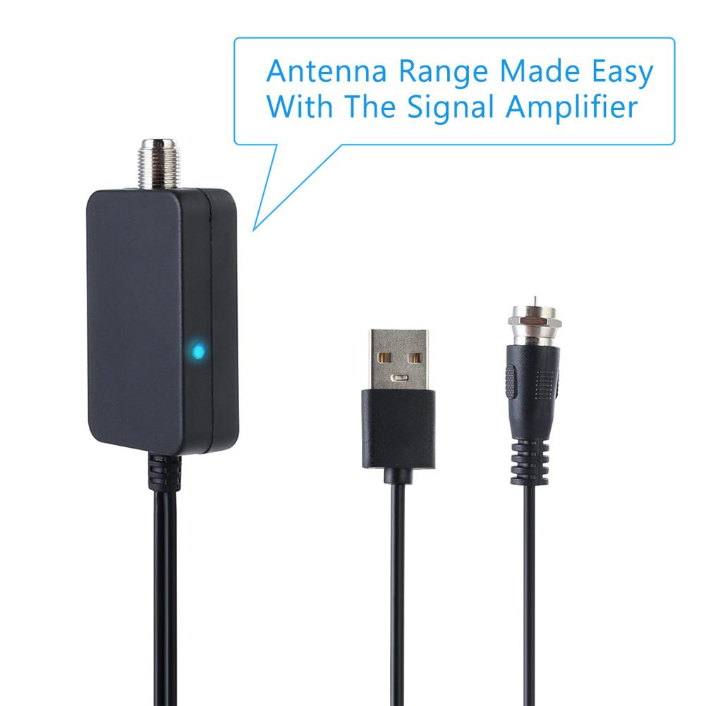 Image 5 - HD Digital TV Antenna Long 150 Miles Range Support 4K 1080P HDTV Amplifier Signal Booster Antenna Signal Amplifier Carton-in TV Antenna from Consumer Electronics