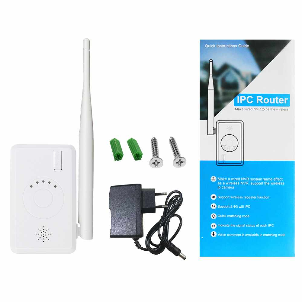 lowest price Hiseeu WiFi Range Extender Repeater IPC Router for Wireless Security Camera Wired NVR to be Wireless