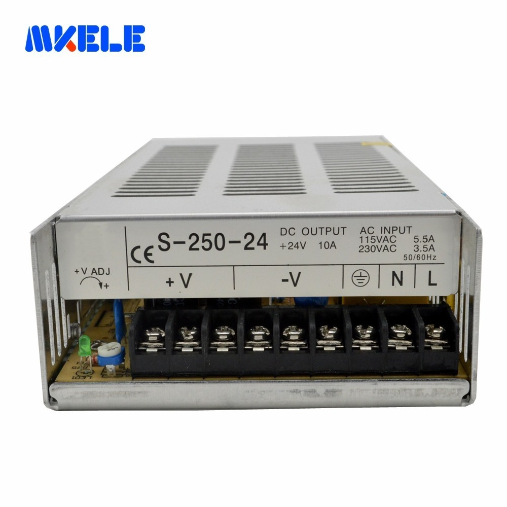 Single Output Switching Power Supply For Audio Amplifier Type CE IP20 Constant Voltage AC To DC 250W 5v 12v 24 48v From MAKERELESingle Output Switching Power Supply For Audio Amplifier Type CE IP20 Constant Voltage AC To DC 250W 5v 12v 24 48v From MAKERELE