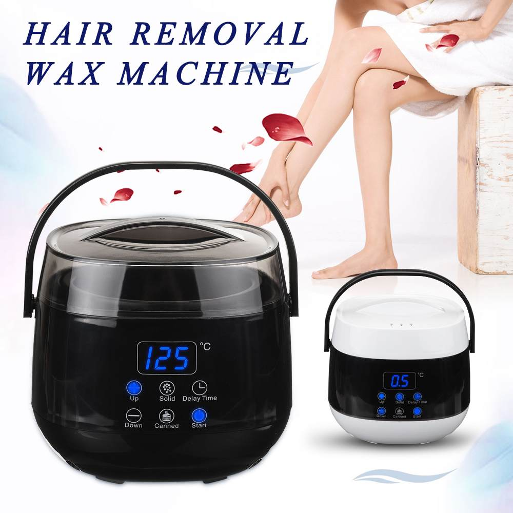 Digital Hair Removal Tool Smart Warmer Wax Heater temperature control Personal Care Epilator Depilatory Wax Bean Machine