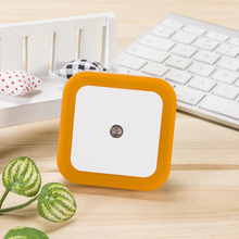 Новое прибытие 0,4 W 4 светодиодный умный светодиодный светильник, лампа с датчиком, подключаемый Электрический энергосберегающий маленький ночник