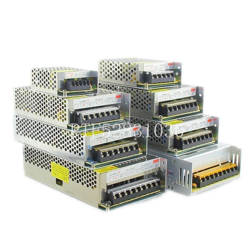 12V LED Transformer Power Supply Switch Adapter AC 110V 220V TO DC 12V 2A 3A 5A 10A 20A 30A 40A 60A Driver For Led Strip Lights in Lighting Transformers from Lights Lighting