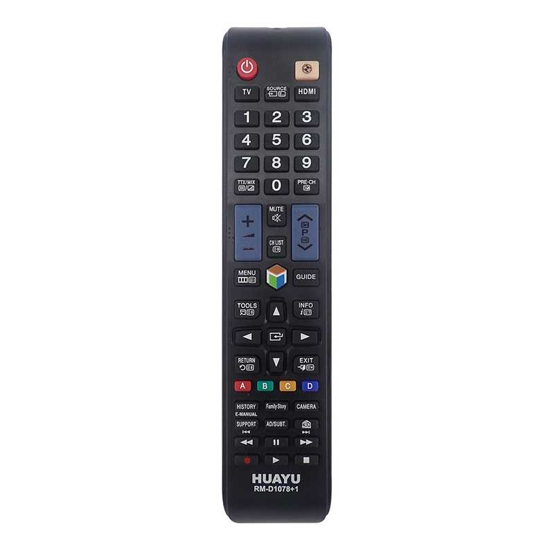 HUAYU Universal ReplacementรีโมทคอนโทรลRm-D1078สำหรับSamsung 3D Lcd/Led Smart Tv