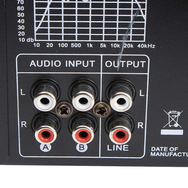 AV Amp Speaker Support 4 Microphone Reverb Equilibrium 4