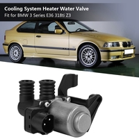 Cooling System Heater Water Valve for BMW 3 Series E36 318ti Z3 64118375443 64114383988 64118369620 64118391418 64111387391