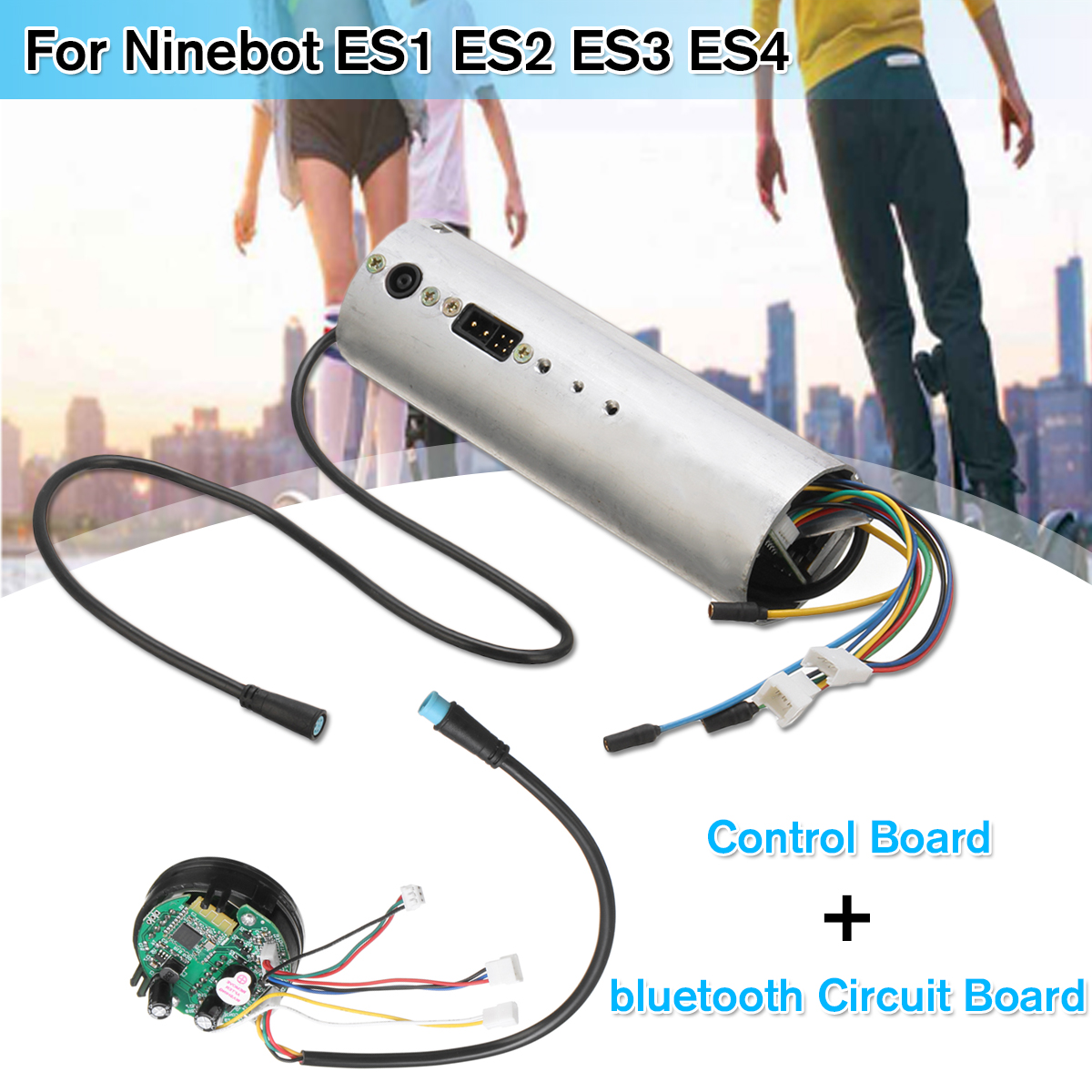 Control Board bluetooth Circuit Board Motherboard Controller for Ninebot  ES1 ES2 ES3 ES4 Electric Scooter Replacement Parts