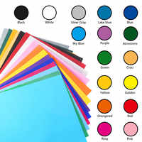 25 Pcs Assorted Farben Dye Sublimation Wärme Transfer Vinyl Film Papier für Polyester Baumwolle T-Shirt Tasse Fall 300 X 250mm