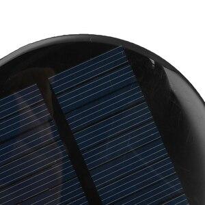 Image 4 - 1/5/10Pcs 6V 2W 0.35Aพลังงานแสงอาทิตย์80มม.DIY Mini Polycrystalline Siliconโมดูลเซลล์วงกลมรอบแผงเซลล์แสงอาทิตย์อีพ็อกซี่บอร์ด