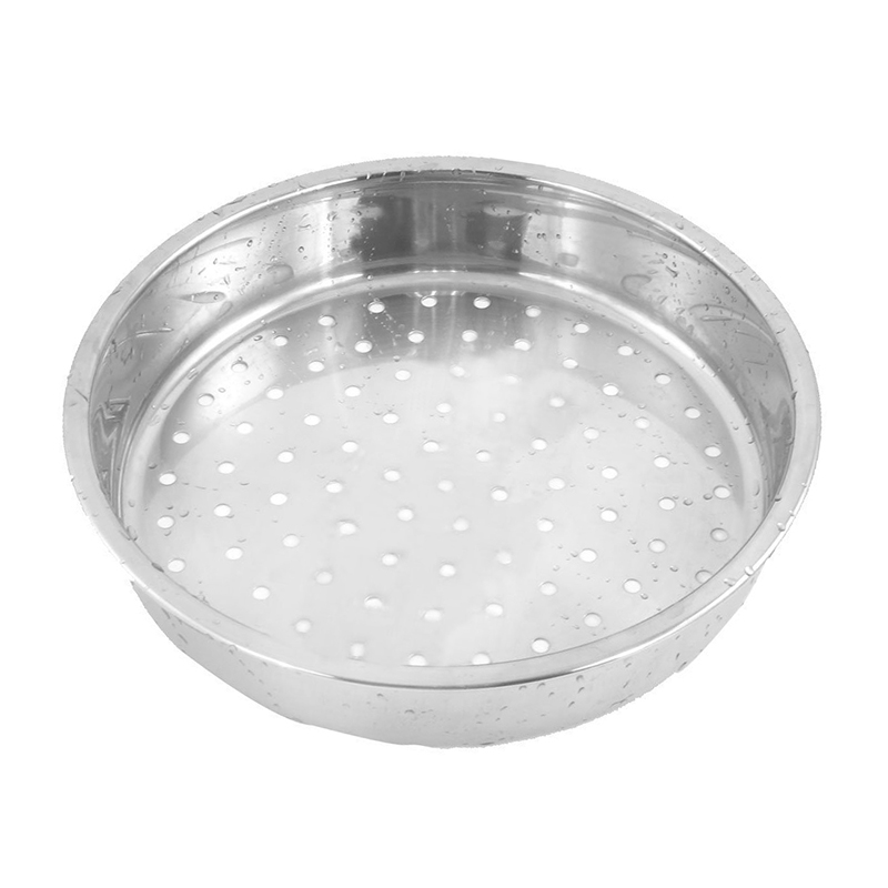 Round Stainless Steel Food Cooking Steamer Rack Cookware 21cm Dia