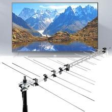 111.5cm 32 Element TV Antenna Outdoor Digital Aerial UHF VHF
