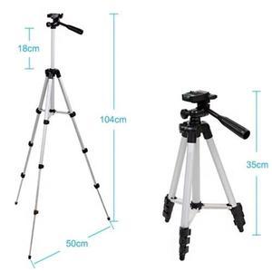 Image 2 - Универсальный мини портативный алюминиевый штатив стойка и сумка для камер Canon Nikon Sony Panasonic штативы для камер