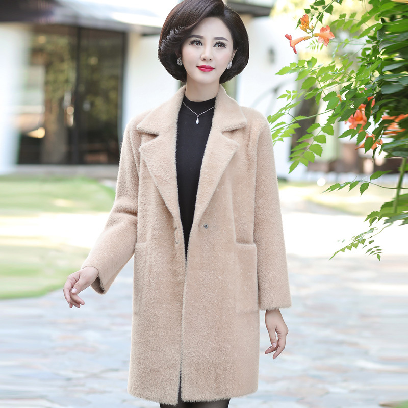 Manga Tejer Invierno Suelta De Tamaño 11 12 Cardigan Moda Media Plus 13  Suéter Abrigo Punto Mujeres ... 1f57eabff6f7