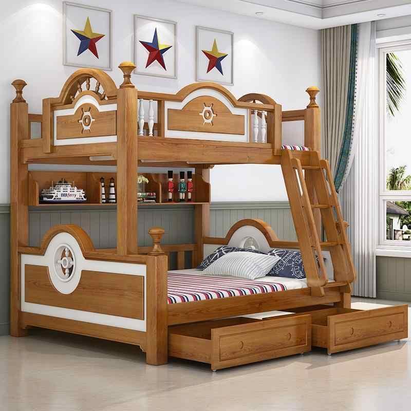 Matrimonio bedroom Furniture Literas Madera A Castello Modern Totoro Letto Moderna Mueble De Dormitorio Cama Double Bunk Bed