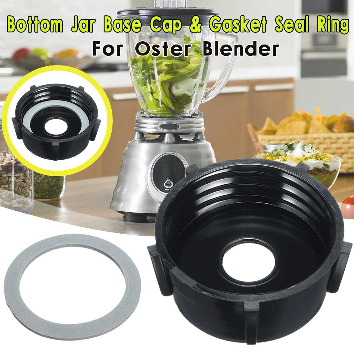 Bottom Jar Base With Rubber Gasket Seal O Ring For Oster Replacement Juicer Spare Assembly