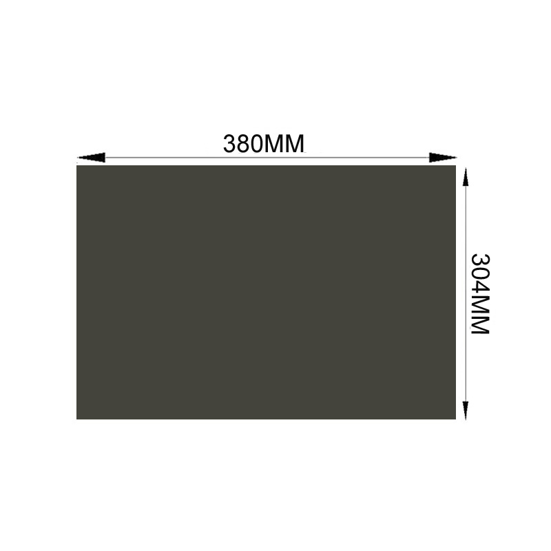 5PCS New 19 0degree 4 3 380MM 304MM LCD Polarizer Polarizing Film Sheets for LCD LED