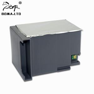 Image 3 - T6714 Maintenance Tank Ink Cartridge For EPSON WorkForce Pro WF C8690 WF C869R C8190D3TWC C8610 C8190 Waste Ink Tank