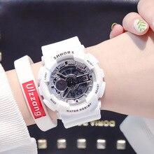 Relogio Feminino Women LED Digital Sports Watches ins Students Casual Silicone Wrist Watches Clock Reloj Mujer Bayan Kol Saati все цены