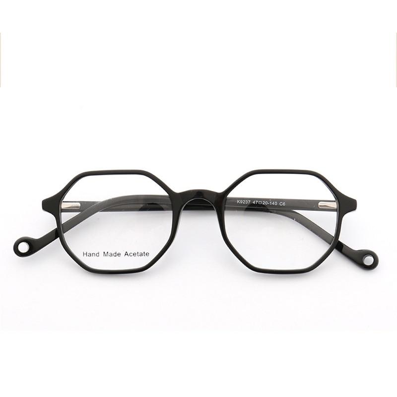 2e3013b895 Detail Feedback Questions about Hexagon Glasses Frame For Women Men Myopia  Eyewear Clear Lens Optical Glasses Transparent Eyeglasses Acetate Spectacle  Frame ...