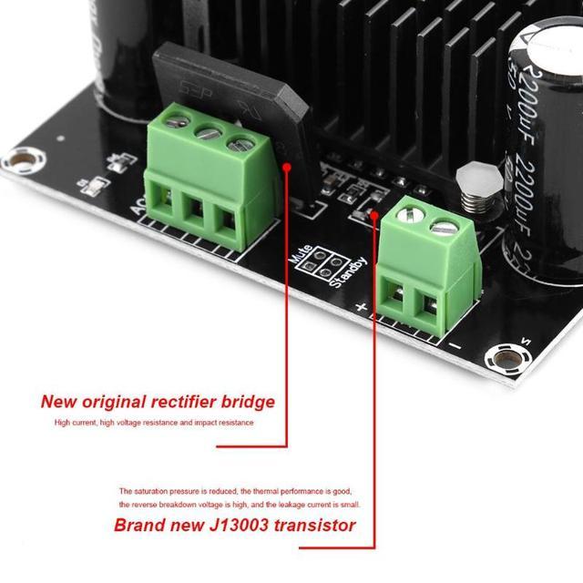 ALLOYSEED High Power Digital Amplifier Board 420W TDA8954TH Mono Channel Digital Core BTL Mode fever Class