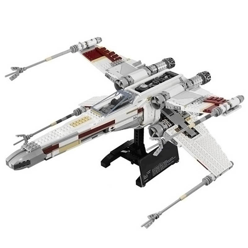 Lepin 05037 UCS Slave I Slave NO.1 Lepin 05039 Red Five X Starfighter Wing Bricks Toy Legoingly 10240 75060 Wars in Star Toys slave rebellion in brazil
