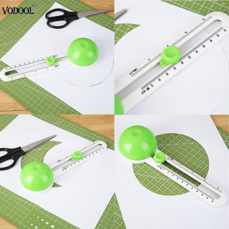 Round Cutting Knife Patchwork Compass Circle Cutter Scrapbooking Cards Cutters Simple Paper-Cutting Knife For Cutting Printing