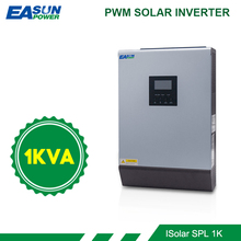 EASUN POWER onduleur solaire hybride 1kva à onde sinusoïdale Pure, contrôleur de Charge solaire, PWM intégré, à usage domestique