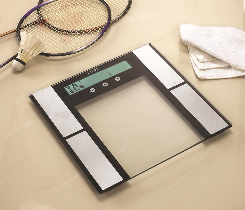 Цифровой же экстра тонкий электронные жира вес масштаба с гидратации мышц монитора и сенсорной функции и 12 человек памяти