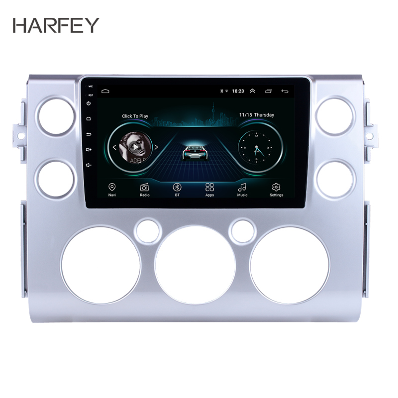 Harfey HD Touchscreen 9 Android 8 1 for 2007 2018 Toyota FJ CRUISER Car Stereo GPS