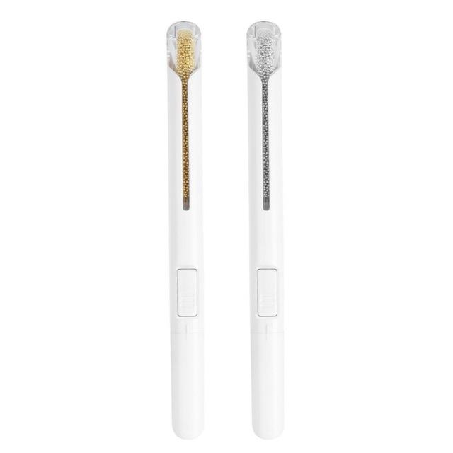 UV Gel Painting Nail Art Dotting Pen Nails Accessoires Bullion Pen Metal Beads Dotting Drawing Pen DIY Manicure Decorations Tool 6