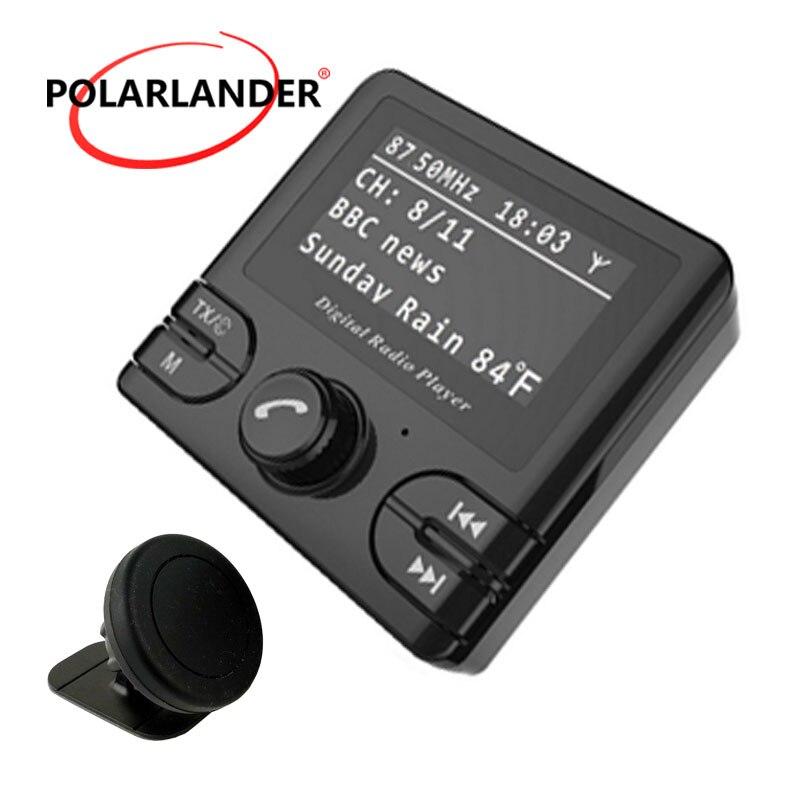 Récepteur GPS Dab voiture sans fil Auto Radio adaptateur GPS Tuner sortie Audio DAB/DAB + récepteur Bluetooth FM émetteurs mains libres