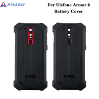 Alesser For Ulefone Armor 6 Battery Cover Replacement Protective Battery Cover For Ulefone Armor 6 Phone Accessories
