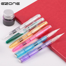 EZONE New Style Fountain Pen Writing Brush For Traditional Chinese Calligraphy Prictice Watercolor Gouache Acrylic Drawing 2019