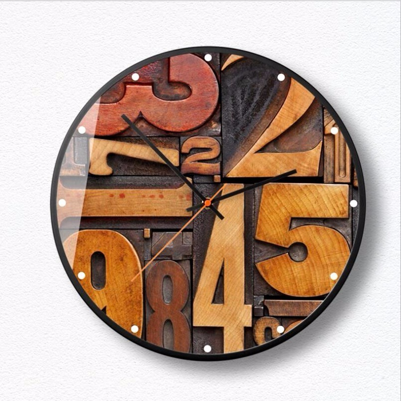 New 3D Big Wall Clock Simple Watch Personality Wall Clock Modern Design Silent Movement Wall Clock Large Size Home Decoration