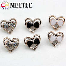 50Pcs Heart-shaped Resin Button Women Sewing Buttons For Clothing Shirt Child Collar Cardigan Decorative Botones DIY ZK2007